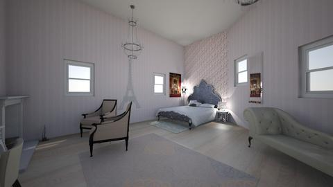 Paris Room Inspiration - Bedroom - by ThePrince15