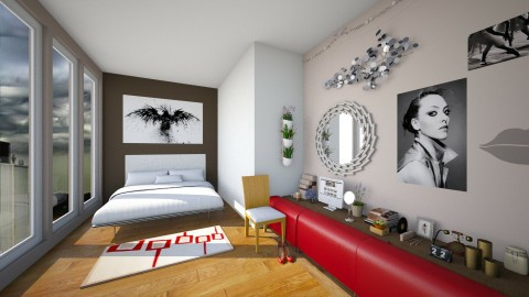 loft - Glamour - Bedroom - by mpy1999