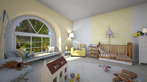 Lemon - Minimal - Kids room - by tieganclayton