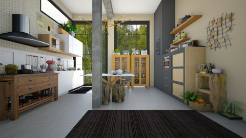 stosa - Kitchen - by Svetlana Baitchourina