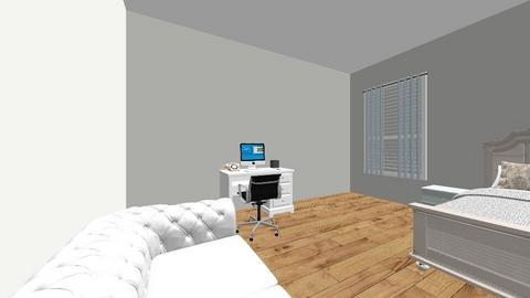 Zariah Hines Morris  - Bedroom - by senewby