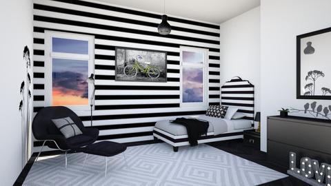teen room - Bedroom - by chichi dz