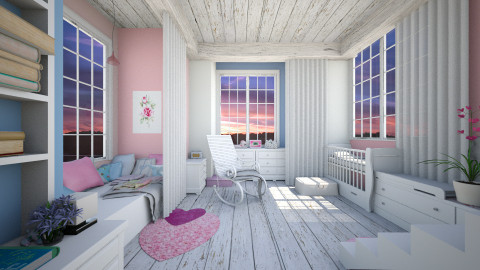 color of the year nursery - Kids room - by AnnaMull