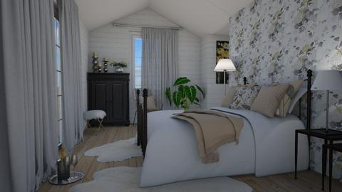 Cottage romance - Bedroom - by Tuija