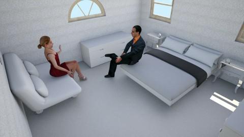 Modern Bedroom - Modern - Bedroom - by Ellie Kail