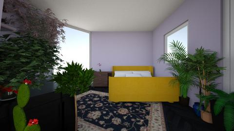 Bedroom 1 - Eclectic - Bedroom - by abilikescats