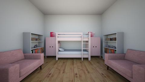 ballerina twins - Feminine - Kids room - by Funnygirl2000