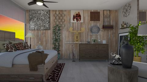 Urban Bedroom - Bedroom - by amwerner