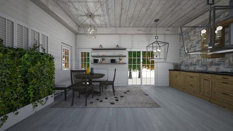 EB - Kitchen - by heynowgregory