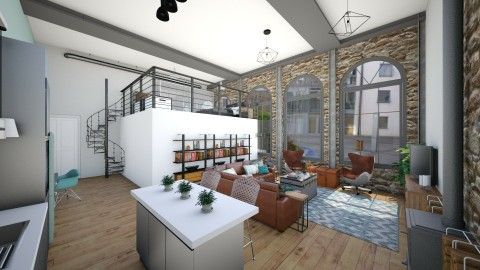 Warehouse conversion  - by helenroberts