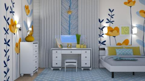 Sunny - Modern - Bedroom - by augustmoon