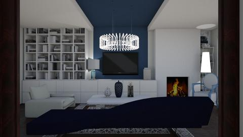 A little blue - Modern - Living room - by The quiet designer