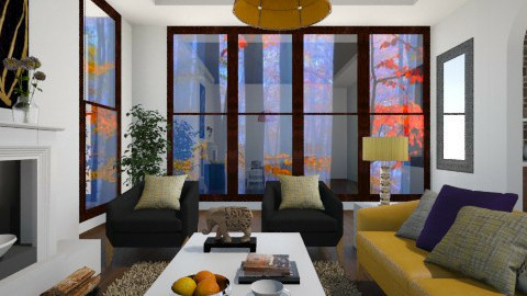Falls - Modern - Living room - by channing4