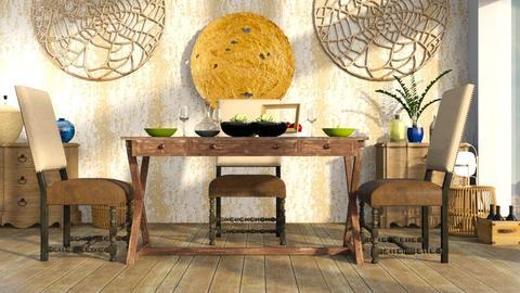 Dinner - Dining room - by ZuzanaDesign