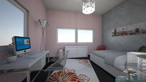 Girly Bedroom - Feminine - Bedroom - by zoe128
