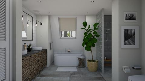 Woods House Bath - Bathroom - by LizyD