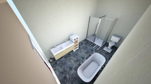 Bedroom and Bathroom - Bedroom - by Dogs rule
