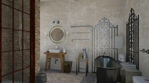 Industrial Bathroom - Vintage - Bathroom - by idna