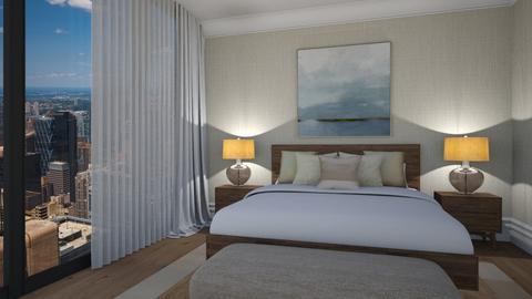 desert in the city - Bedroom - by barreka