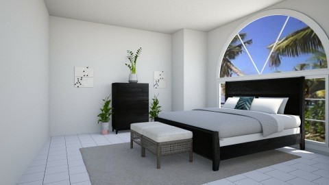 bedroom - by Emma VanDonkelaar