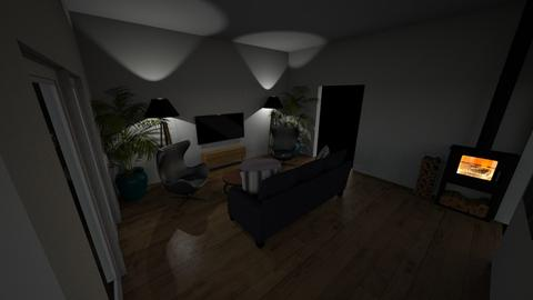 living room 9 - Modern - by lukhi