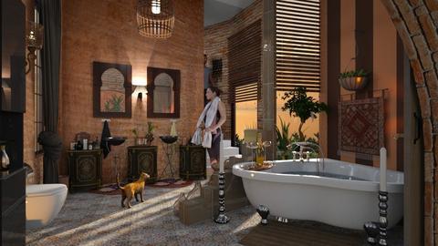 Boho Bath - by ZsuzsannaCs