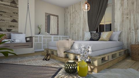 BOHO BED - Bedroom - by KimAlys