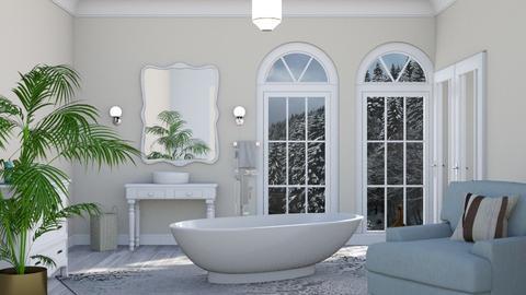 White duck  Bathroom - Modern - Bathroom - by Sue Bonstra