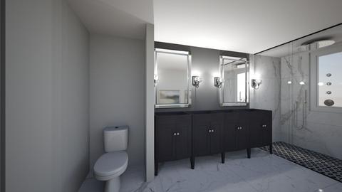 5_25 black vanity - Bathroom - by sshelia70