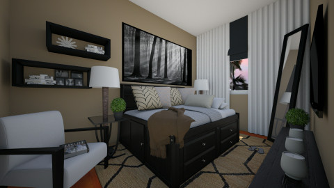 Amone BR - Modern - Bedroom - by channing4