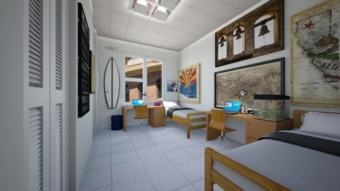 Dormitory - Bedroom - by SammyJPili