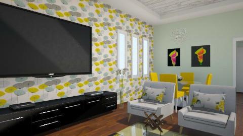 Modern - Living room - by Debora Cris