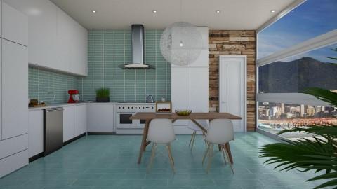 Ultra Modern Condo - Modern - Kitchen - by bgref