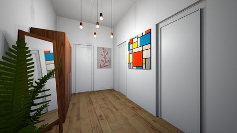 Hall - Minimal - by Twerka