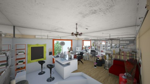 workshop3 - Minimal - Living room - by Yana Radetskaya