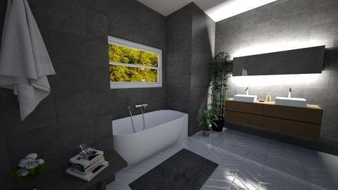 bathroom design - Bathroom - by ClaudiaRoze