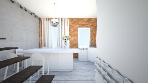 p - Retro - Kitchen - by ewcia11115555