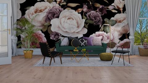 Floral - Living room - by lovedsign