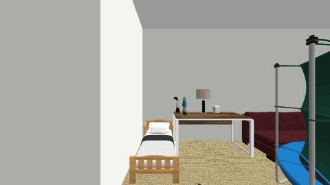 Downstairs - Modern - by Logan Randall