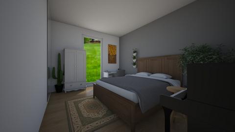 My dream bedroom 02 - Minimal - Bedroom - by designermars