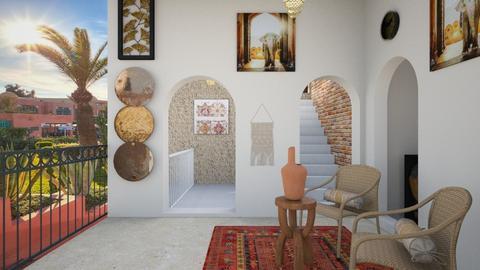 Riad Marrakech  - Vintage - by zayneb_17