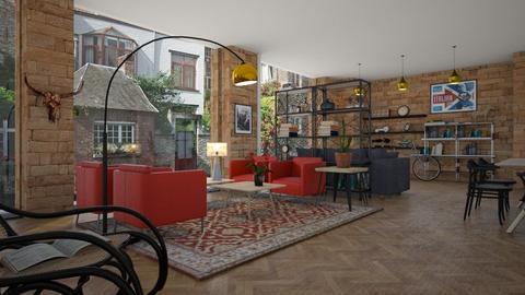Penny_Lane - Living room - by ZuzanaDesign