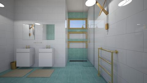Clean and Green - Modern - Bathroom - by Kit Bramble