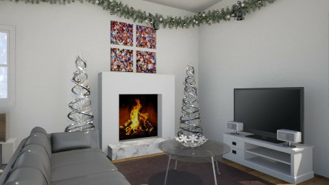 Christmas Tigers - Classic - Living room - by anniero