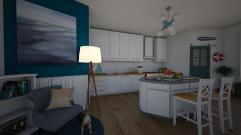 nautical itchen - Kitchen - by nevenadesko