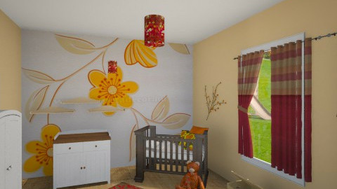 baby room_1 - Kids room - by Melcsi30