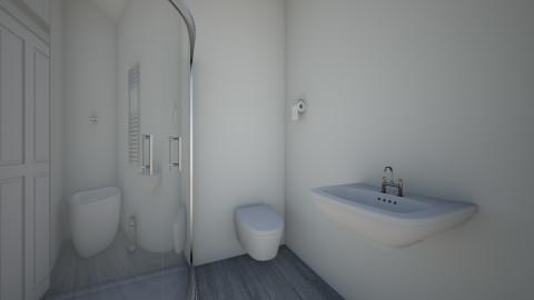 Badkamer ontwerp papa - Modern - Bathroom - by Jillheemskerk