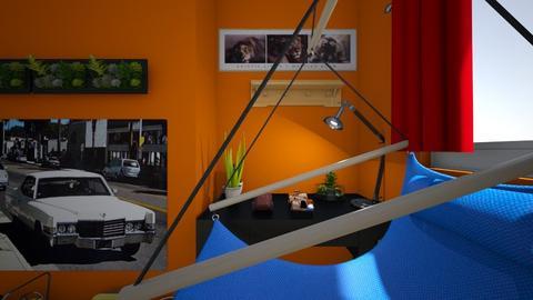 Marton Molnar bedroom - Kids room - by martonmolnar
