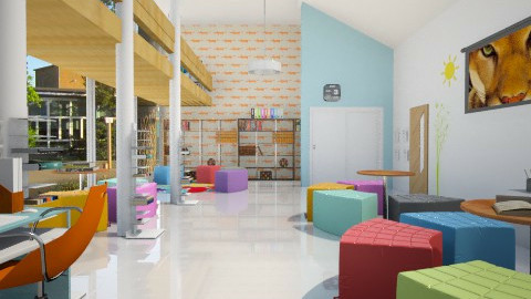 school - Modern - Kids room - by donella