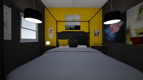 room rom - Glamour - Bedroom - by allenck1